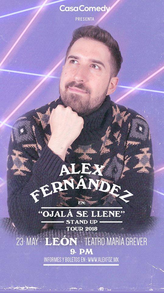 Alex Fernández, Teatro María Grever