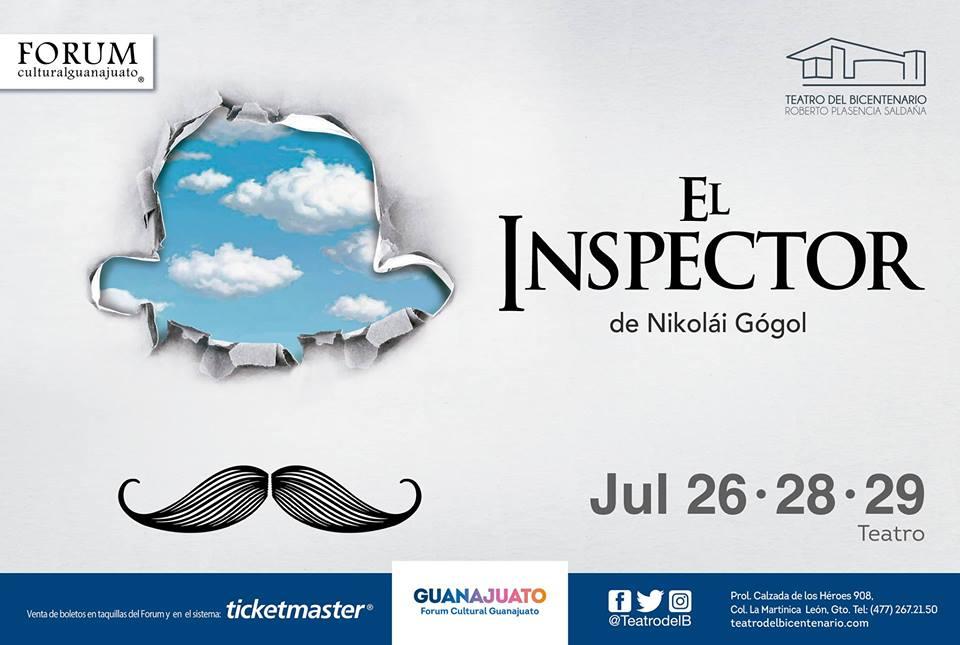 El inspector, de Nikolái Gógol