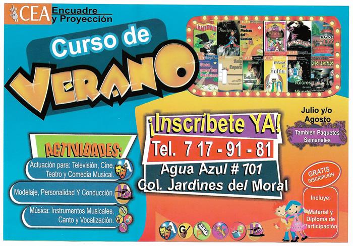 Academia De Actuacion Canto Y Modelaje Cea En Leon Guanajuato