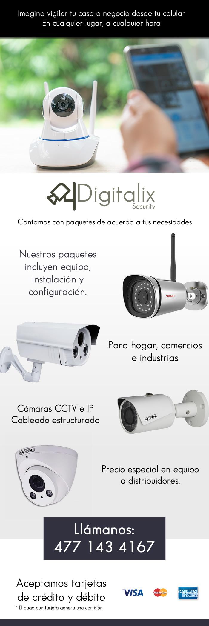 Cámaras y sistemas de seguridad
