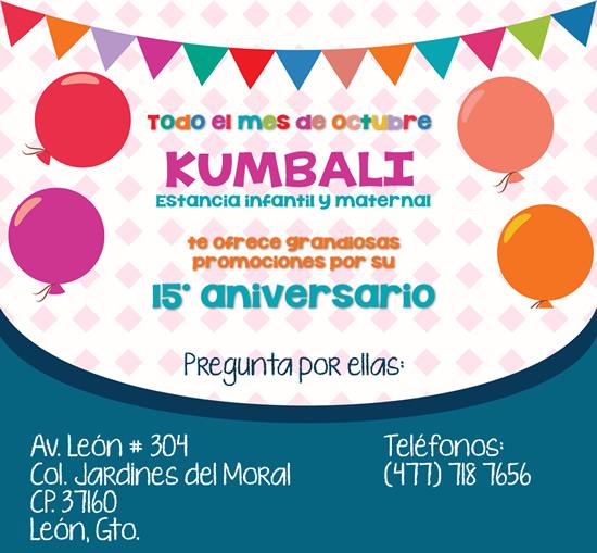 15 aniversario de KUMBALI
