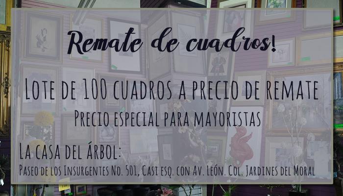 Remate de cuadros León, Guanajuato