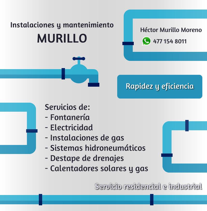 Instalaciones y mantenimiento Murillo