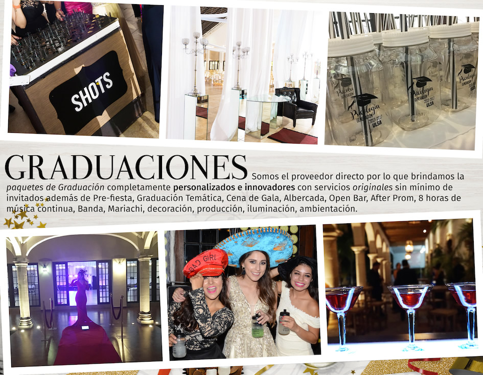 Hacienda León, Banquetes y eventos