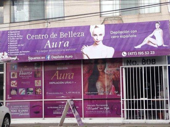 Centro de belleza Aura